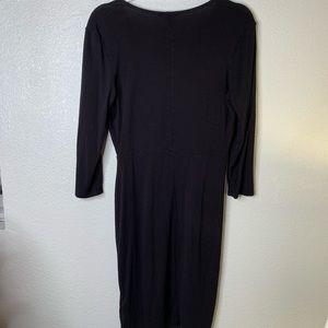 H&M Dresses - H&M black LS dress